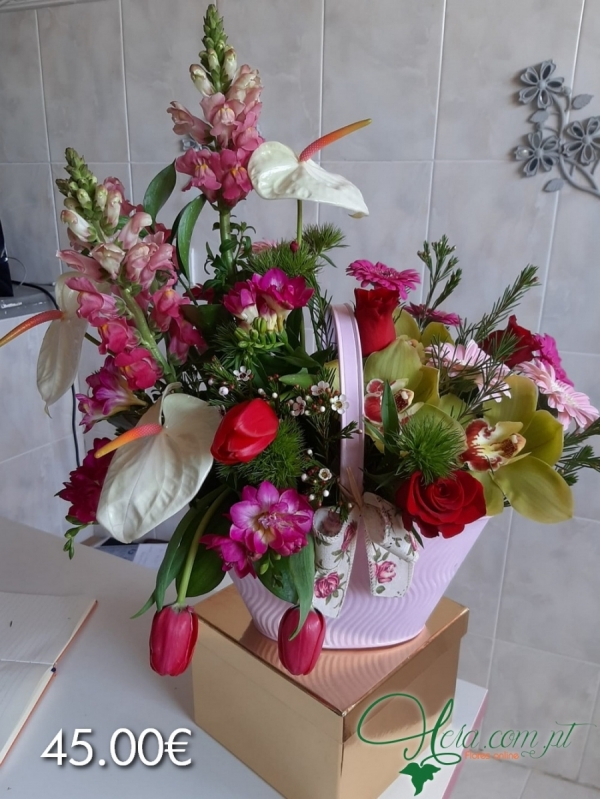 Amo-te Mãe - Cesto Eternity (Eternity  Basket)